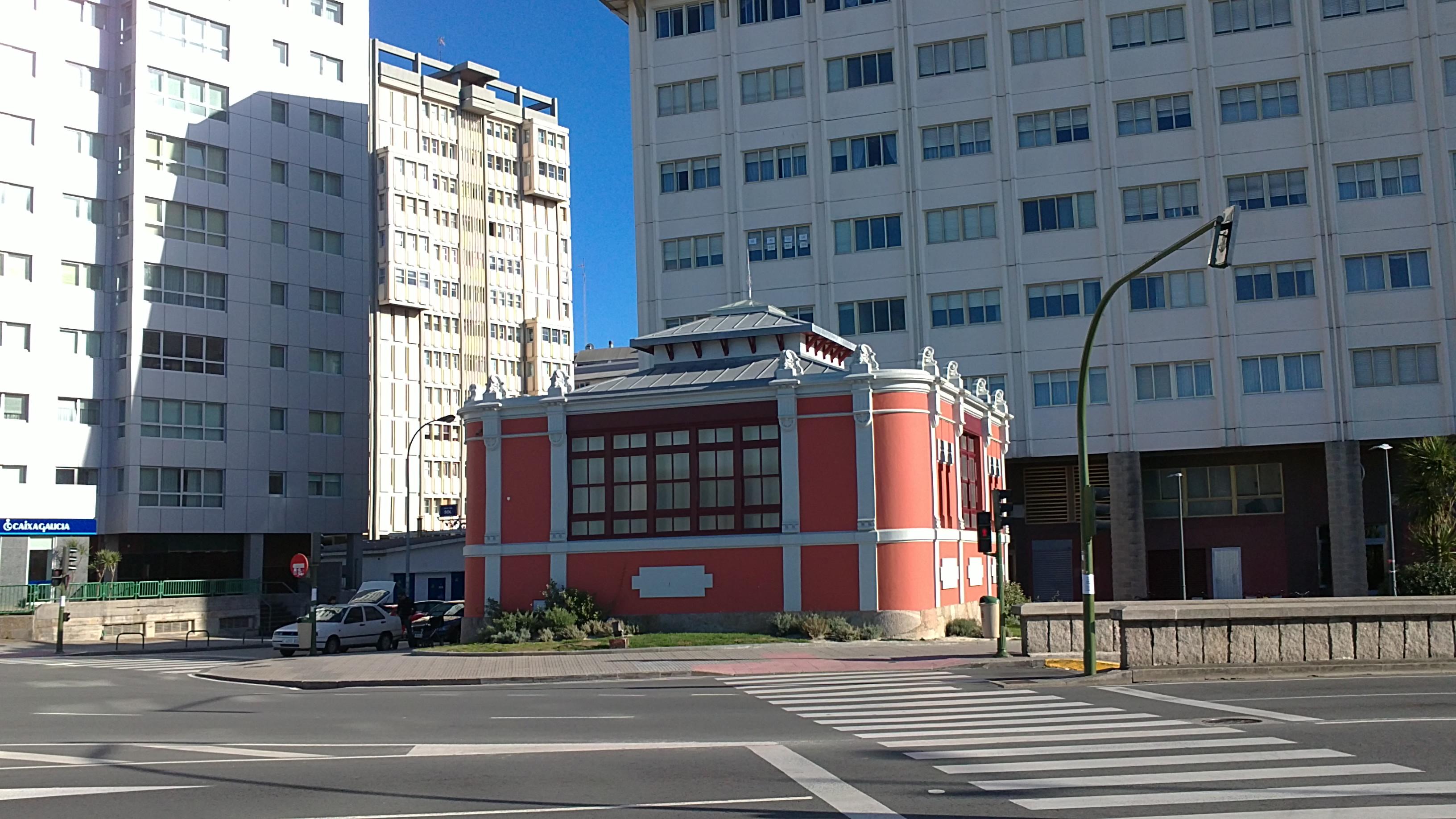 Casa do Sol, A Coruña, Zinc natural