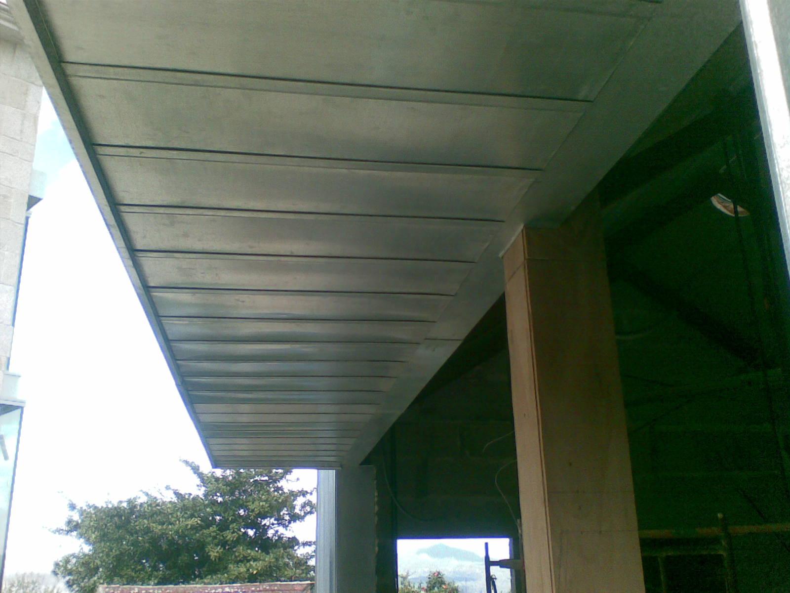 Falso techo zinc titanio